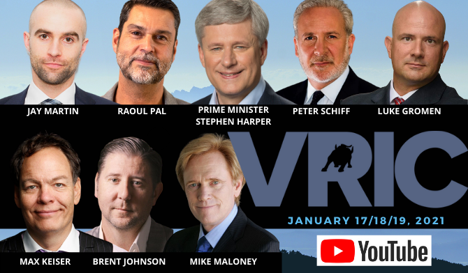 The Vancouver Resource Investment Conference - January 17/18/19, 2021