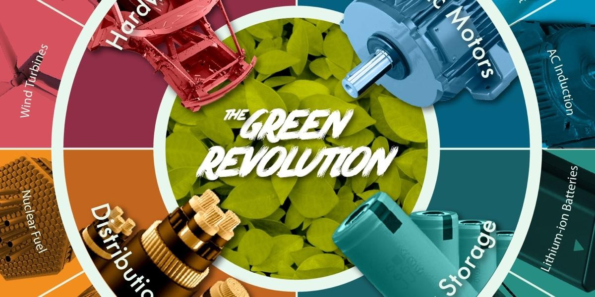 Photo: The Raw Materials That Fuel the Green Revolution