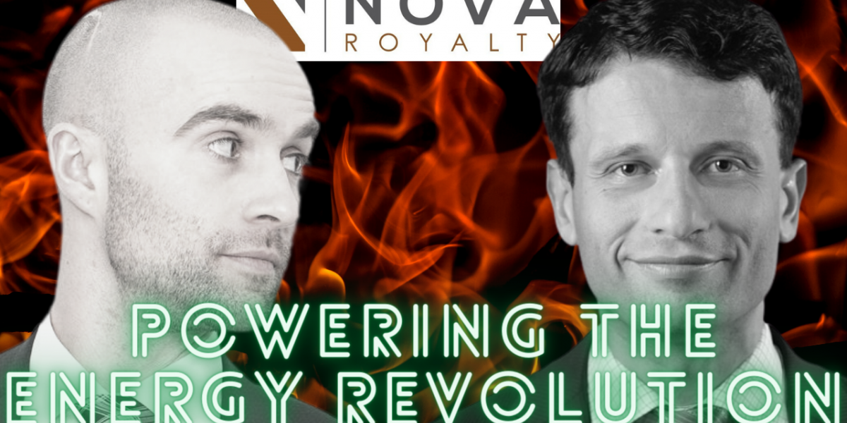 Photo: Nova Royalty - Powering the Green Revolution? Copper and Nickel will lead the way.