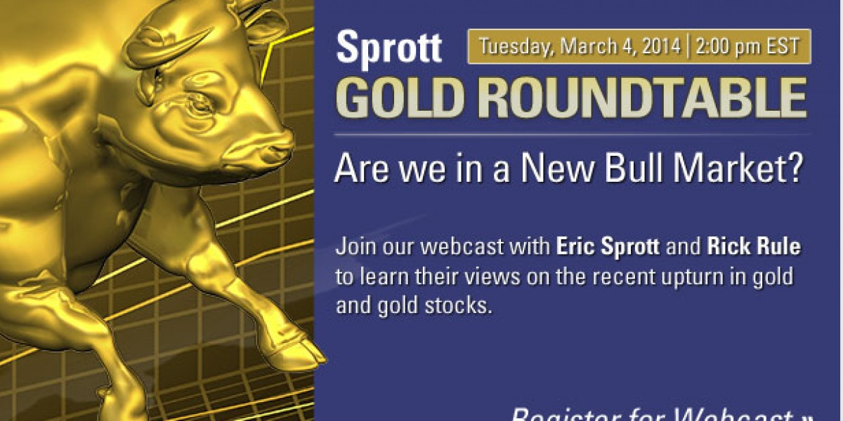 Photo: Gold Roundtable Webcast with Eric Sprott and Rick Rule