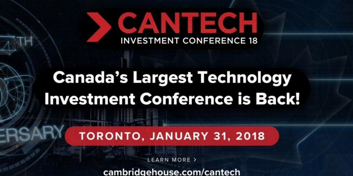 Photo: The Cantech Investment Conference Opens Today!
