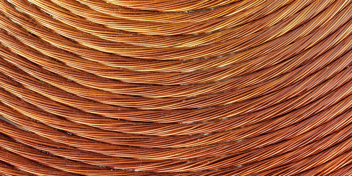Photo: Energy Revolution Means New Sources of Copper Are Vital