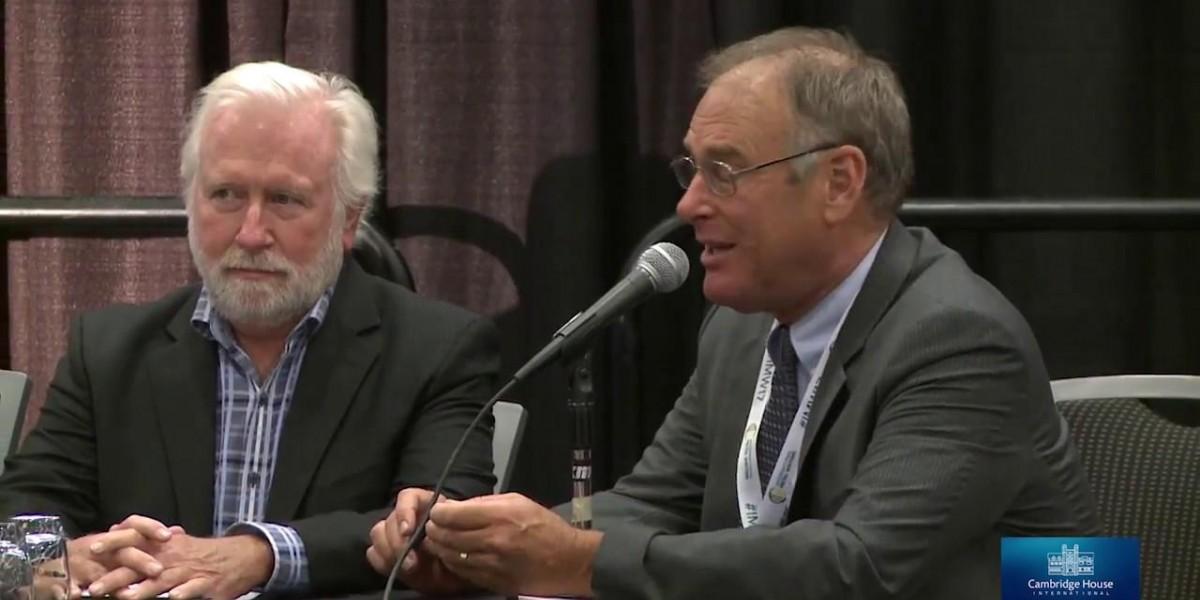 Photo: Korelin Economics - Rick Rule, Frank Holmes & Brent Cook Panel